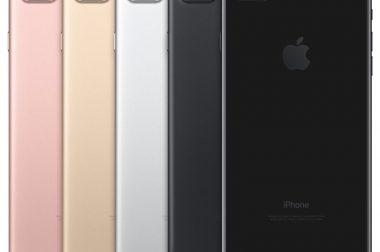 Nieuwe geheugenopties bij de iPhone 7 en iPhone 7 Plus