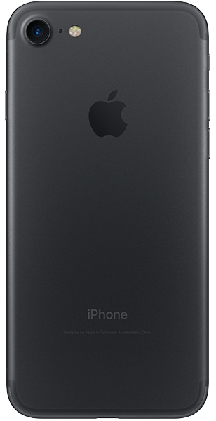 iPhone 7 zwart