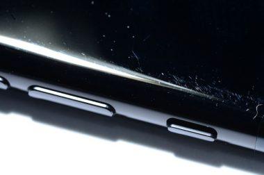 'Gitzwarte iPhone 7 erg krasgevoelig'